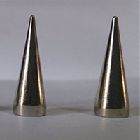 "4/5"" Cone Spike #1- SILVER (7x20mm)"