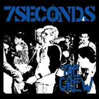7 Seconds- The Crew sticker (st721)