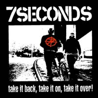 7 Seconds- Take It Back sticker (st720) (Sale price!)
