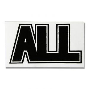 ALL- Logo sticker (st220)