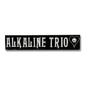 Alkaline Trio- Logo sticker (st163) (Large sticker!)