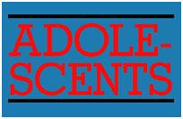 Adolescents- Logo sticker (st550)