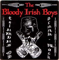 Bloody Irish Boys- Columbus Ohio Drunk Rock sticker (st199) (Sale price!)