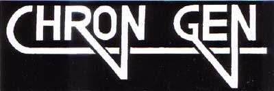 Chron Gen- Logo sticker (st164)