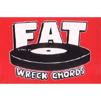 Fat Wreck Chords- Logo sticker (st182)