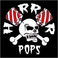 Horrorpops- Skull sticker (st851) (Sale price!)