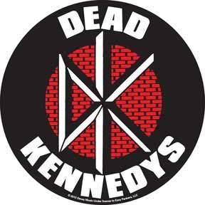 Dead Kennedys- Round Brick Logo sticker (st313)