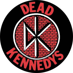 Dead Kennedys- Brick Logo sticker (st449)