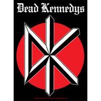 Dead Kennedys- DK sticker (st492)
