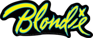 Blondie- Logo sticker (st413)