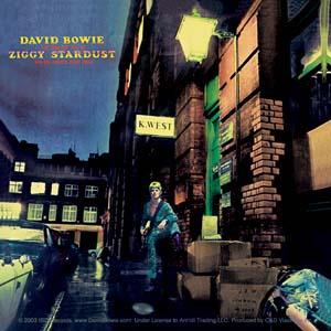 David Bowie- Ziggy Stardust sticker (st416)