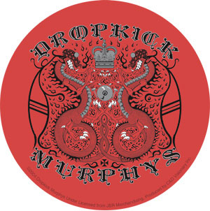 Dropkick Murphys- Red Crown sticker (st472)