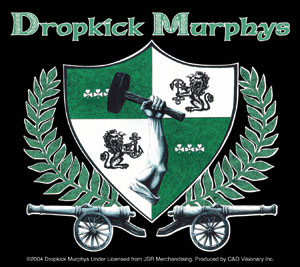 Dropkick Murphys- Crest sticker (st652)