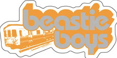 Beastie Boys- Train sticker (st403)
