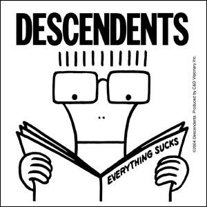 Descendents- Everything Sucks sticker (st473)