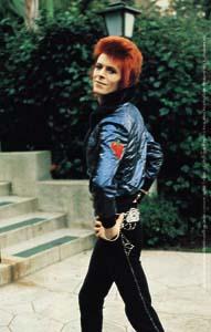 David Bowie- Pose sticker (st333)