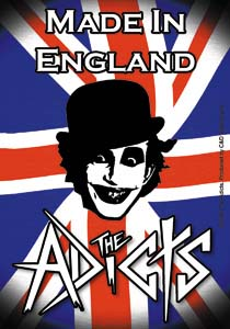 Adicts- Made In England sticker (st1087)