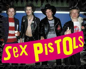 Sex Pistols- Band Pic sticker (st304)