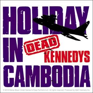 Dead Kennedys- Holiday In Cambodia sticker (st517)
