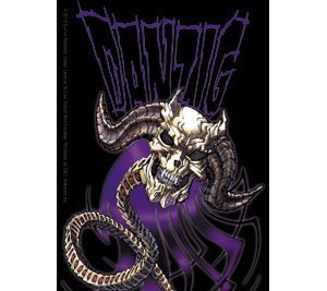 Danzig- Purple Demon sticker (st653)