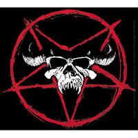 Danzig- Pentagram & Skull sticker (st1132)