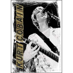 Kurt Cobain- Singing sticker (st344)