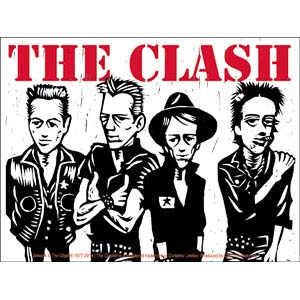 Clash- Caricature sticker (st346)