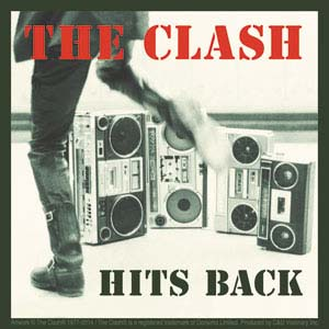 Clash- Hits Back sticker (st105)