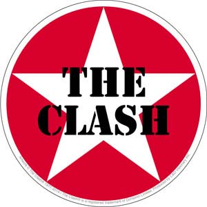 Clash- Star Logo (Round) sticker (st107)