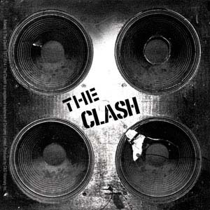 Clash- Speakers sticker (st119)
