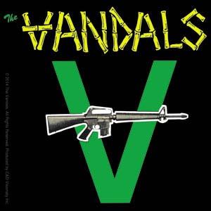 Vandals- Gun sticker (st144)