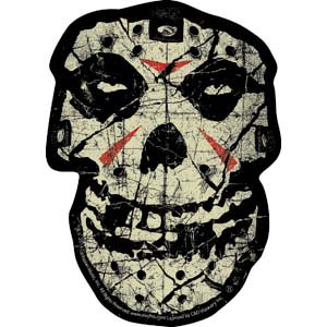Misfits- Crystal Lake Skull sticker (st389)