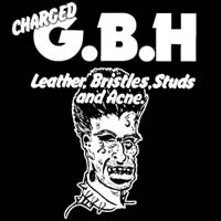 GBH- Leather Bristles Studs And Acne Sticker (st320) (Sale price!)