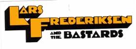 Lars Frederiksen & The Bastards- Clockwork Orange Logo sticker (st350)