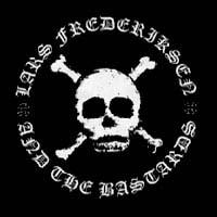 Lars Frederiksen & The Bastards- Skull Logo sticker (st351)