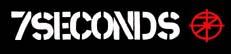 7 Seconds- Logo & Scope sticker (st385)