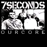 7 Seconds- Our Core sticker (st622)