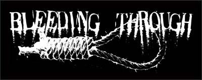 Bleeding Through- Noose sticker (st658) (Sale price!)