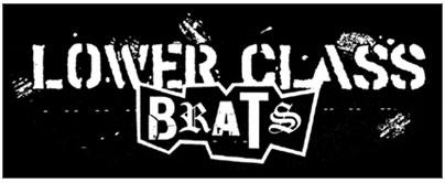 Lower Class Brats- Logo sticker (st708)