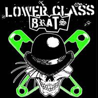 Lower Class Brats- Droog Skull sticker (st714)