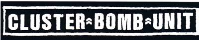 Cluster Bomb Unit- Logo sticker (st740)