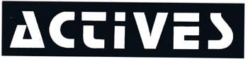Actives- Logo sticker (st750)