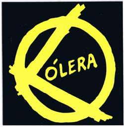 Colera- Logo sticker (st775)