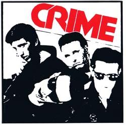 Crime- Band Pic sticker (st783)