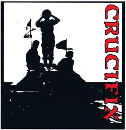 Crucifix- Tank sticker (st785)