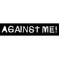 Against Me!- Logo sticker (st556)