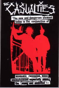 Casualties- New And Dangerous Element sticker (st469)