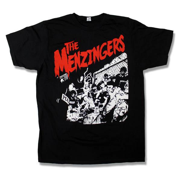 Menzingers- Riot on a black shirt