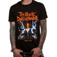 Black Dahlia Murder- Majesty on a black shirt