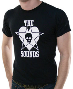 Sounds- Star Heart on a black YOUTH SIZED shirt (Sale price!)